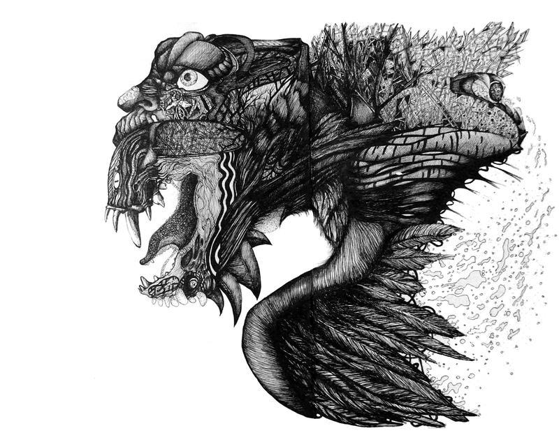 the flight beast by Mihaiya