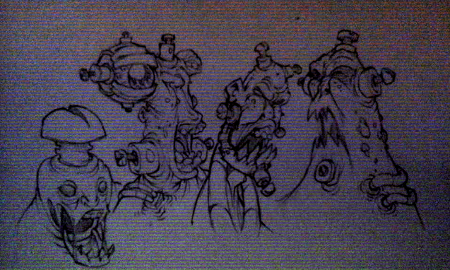 arxidi style characters by SneakyFart