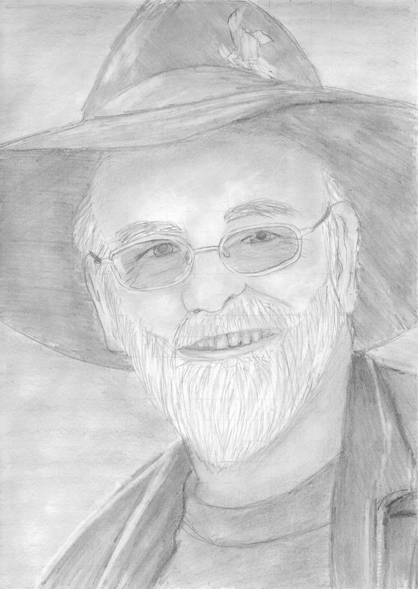 Terry Pratchett by Goonlalagoon