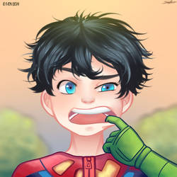 Superboy by FanyMohinder