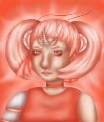 Shrimpy girl