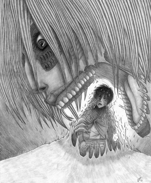 Shingeki no Kyojin: Gotcha! by hannie001