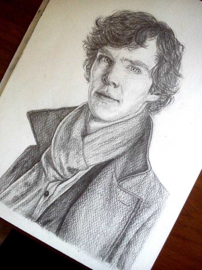 Sherlock Holmes by hannie001