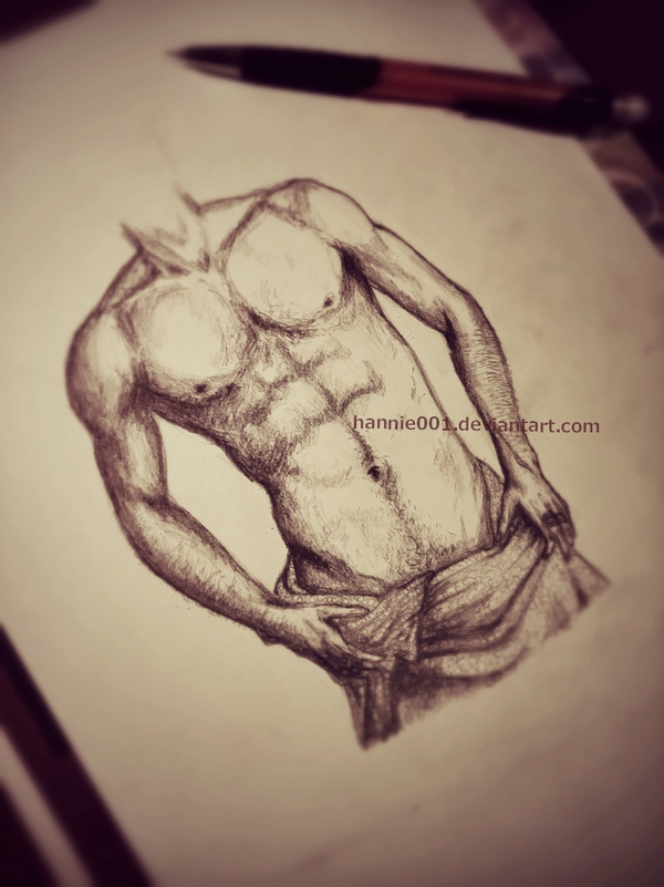 Practise...muscles by hannie001