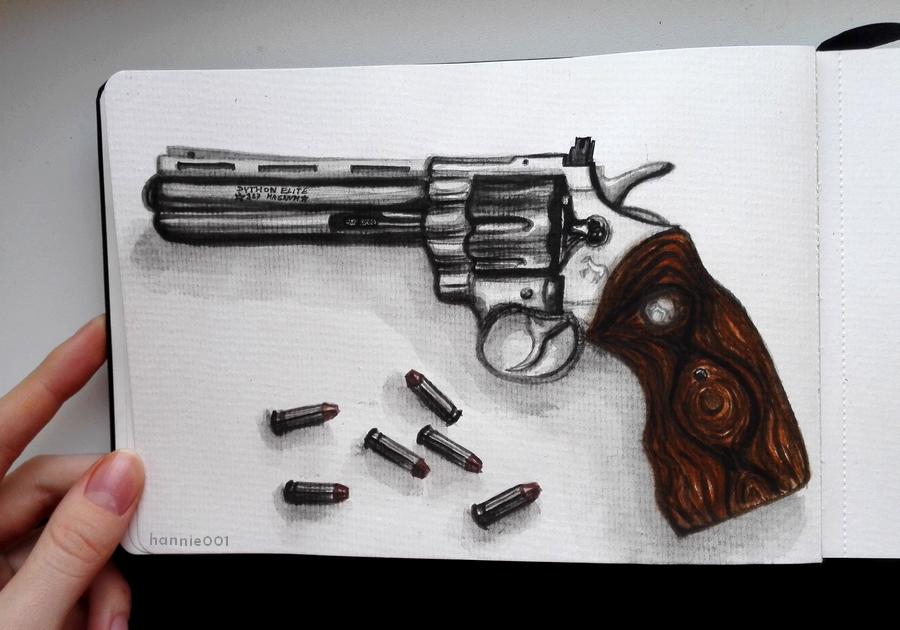 Colt Python 357 Magnum Revolver by hannie001