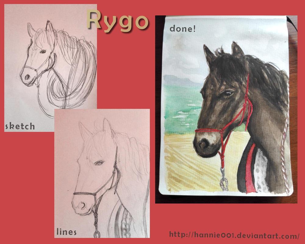 Rygo progress by hannie001