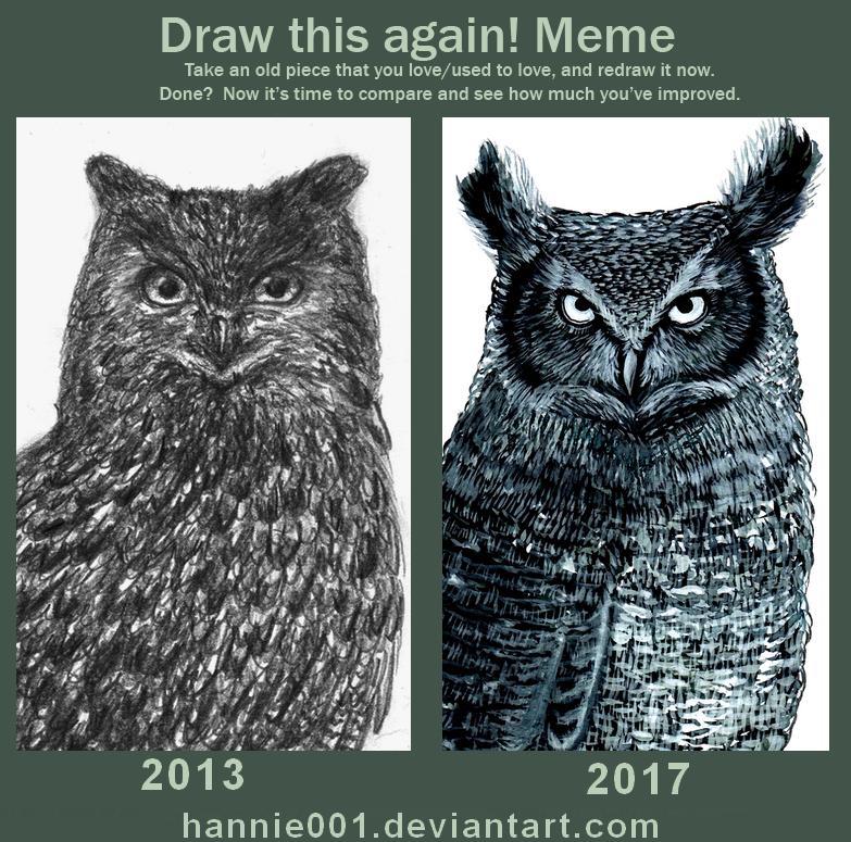 Draw this again OWL 2013/2017 by hannie001