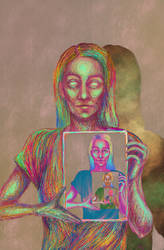 mirror 2 by hannie001