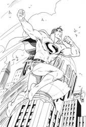 Superman ArtDeco Raw by 7daywalk