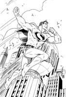 Superman ArtDeco leveled by 7daywalk