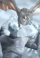 Night King vs Drogon - Game of Thrones by Solaphea