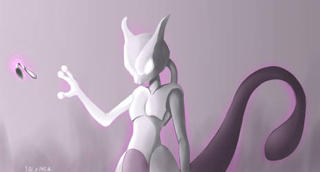 Mewtwo! by Solaphea