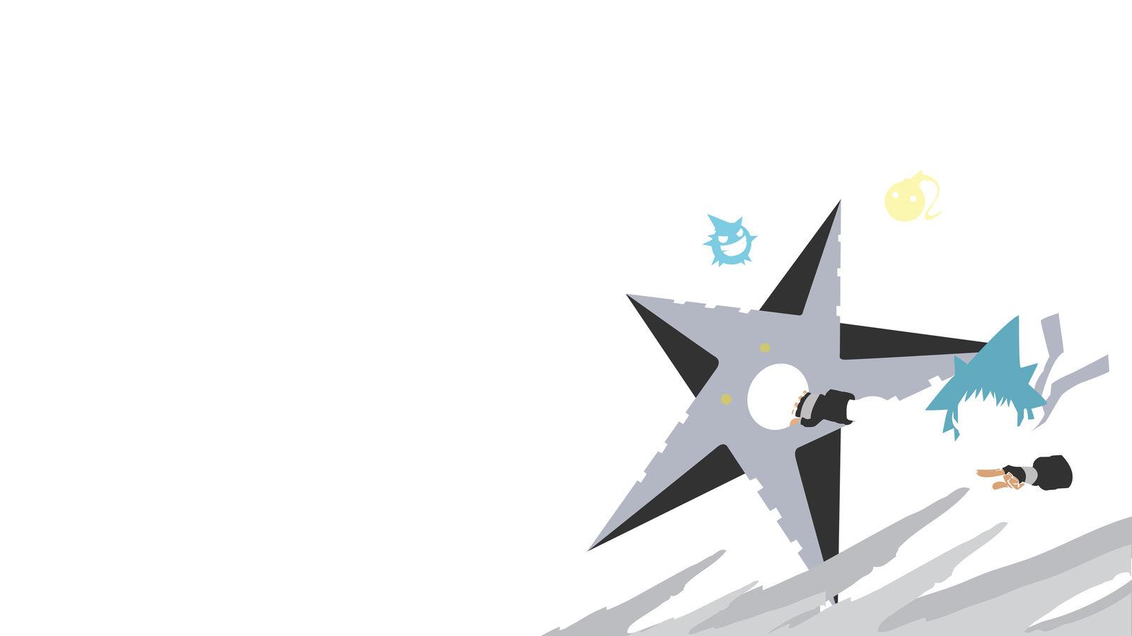 Soul Eater Black Star Wallpaper By Thefancy On Deviantart