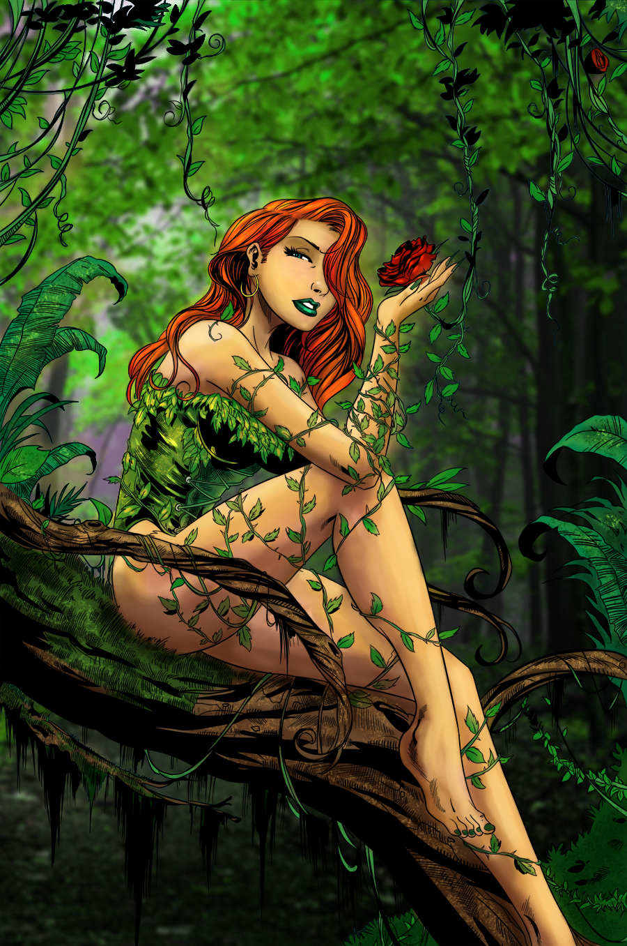 Poison Ivy by HrnArt