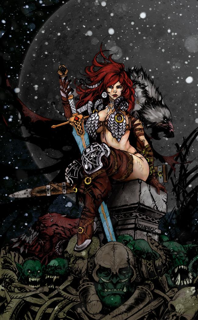 Red Sonja by HrnArt