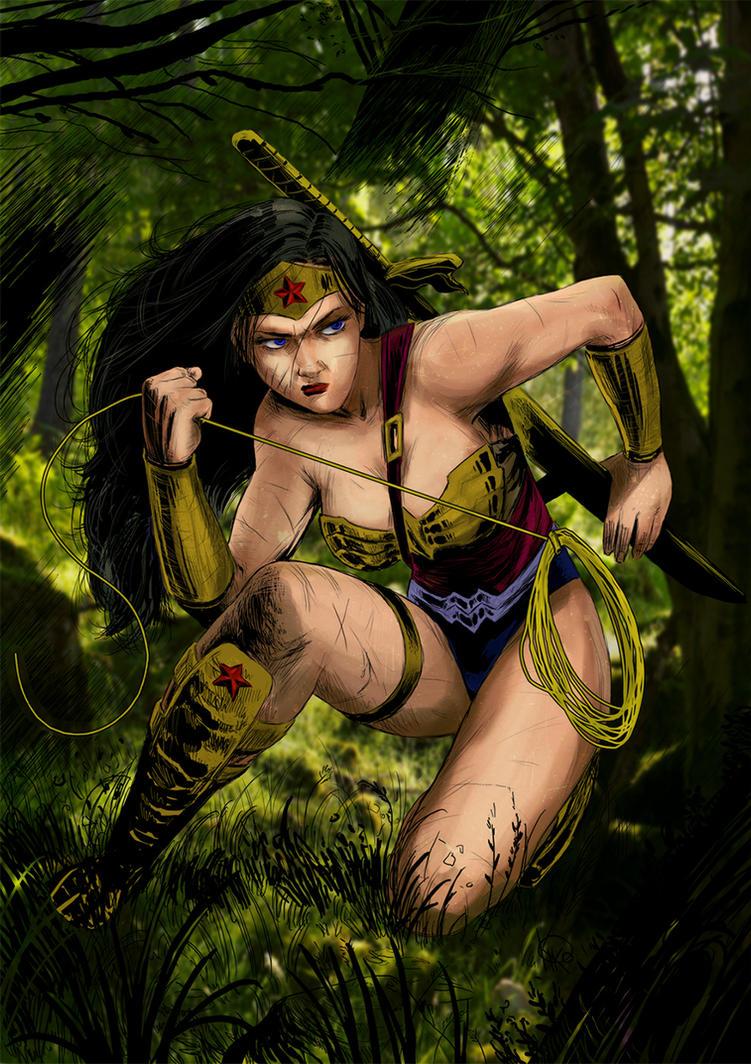 Wonder Woman by HrnArt