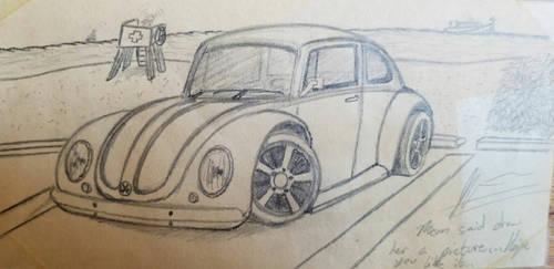 Volkswagen Bug by JahrianSage96