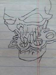 FFDP Skull by JahrianSage96