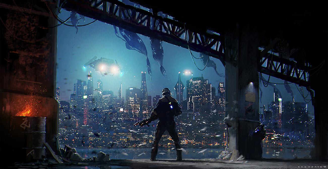 Under The Bridge by IvanKhomenko