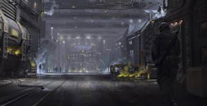 Sci-Fi environment by IvanKhomenko