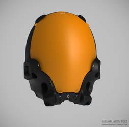 Mesh Fusion Helmet