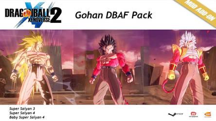 XV2 DBAF Gohan Pack [X2M]