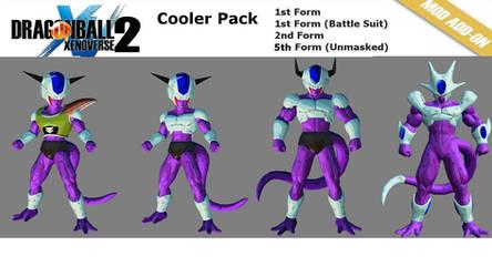XV2 Cooler Pack[X2M] v1.7