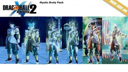 (XV2) Mystic Broly pack [X2M]