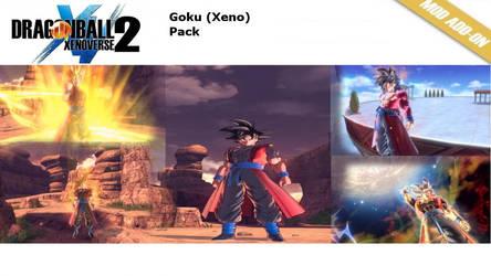 (XV2) Goku (Xeno) Pack [X2M] by diegoforfun