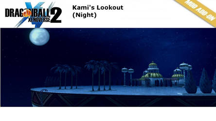(Xv2) Kamis Lookout (Night) [X2M] by diegoforfun