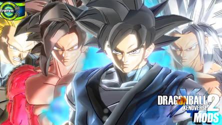 (XV2) Goku (Absalon) Pack [X2M] by diegoforfun