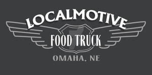 Localmotive food truck logo