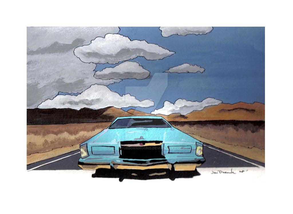 Blue Lincoln