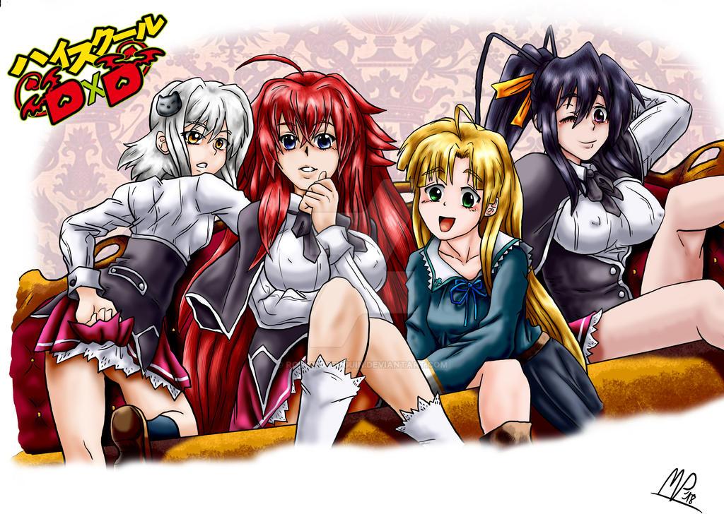 Highschool Dxd Girls
