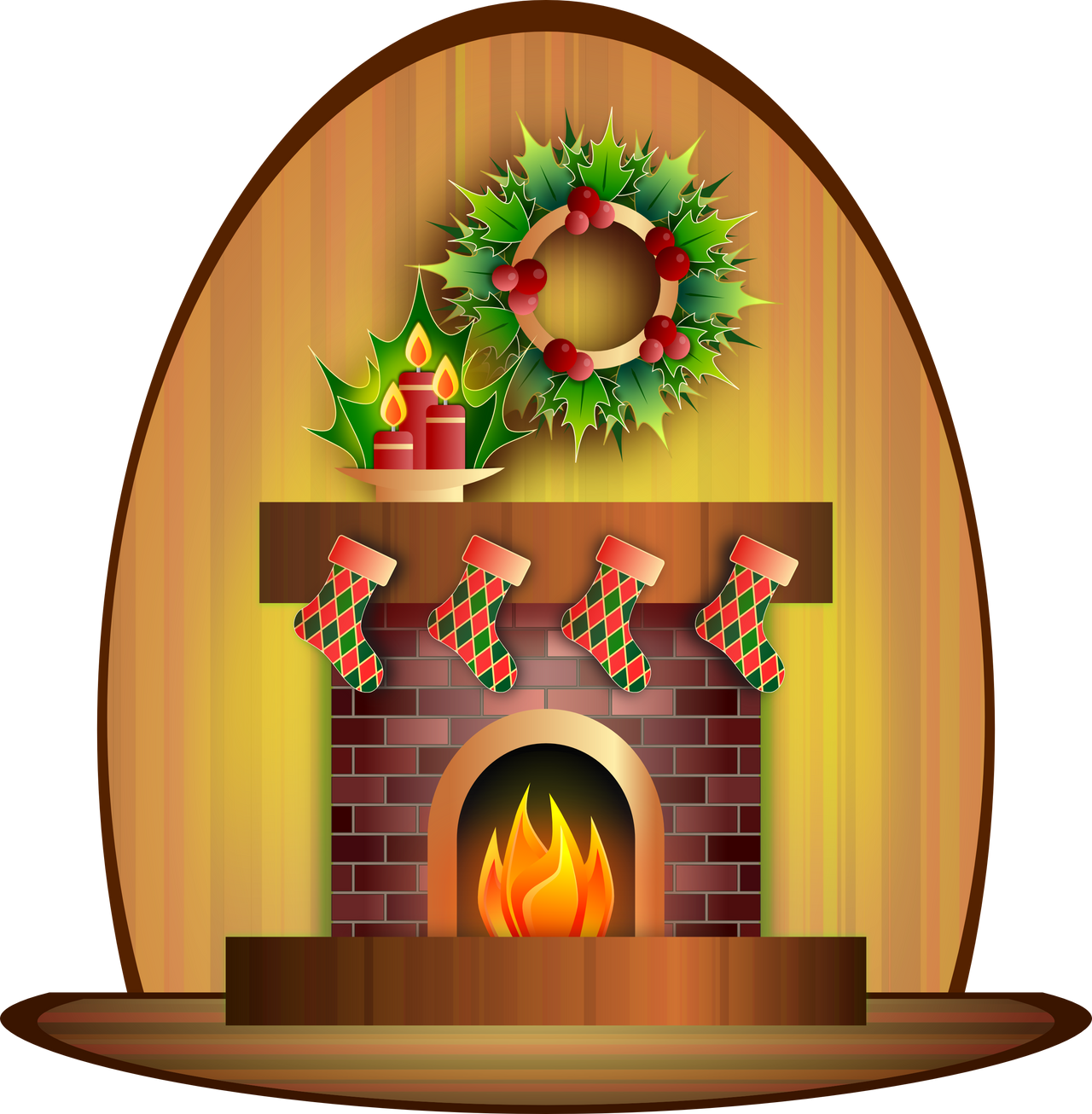 christmas fireplace by viscious speed on deviantart rh viscious speed deviantart com christmas fireplace clipart free