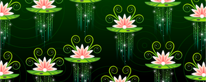 Waterlily Stylized BG