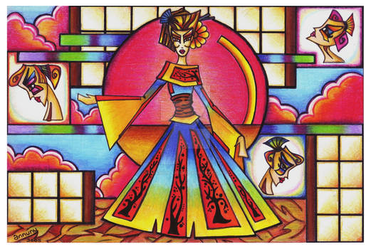 Technicolor Geisha