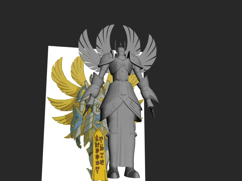 Seraphimon Wallpaper Seraphimon Modeling WI...