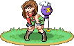Trainer Sprite art trade by YaVaho155