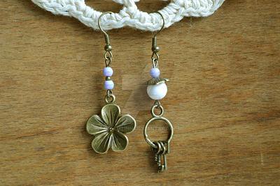 Earrings Secret garden by Cellutinn