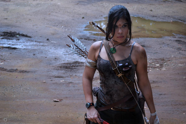 I am Lara Croft. by Jessie-TR