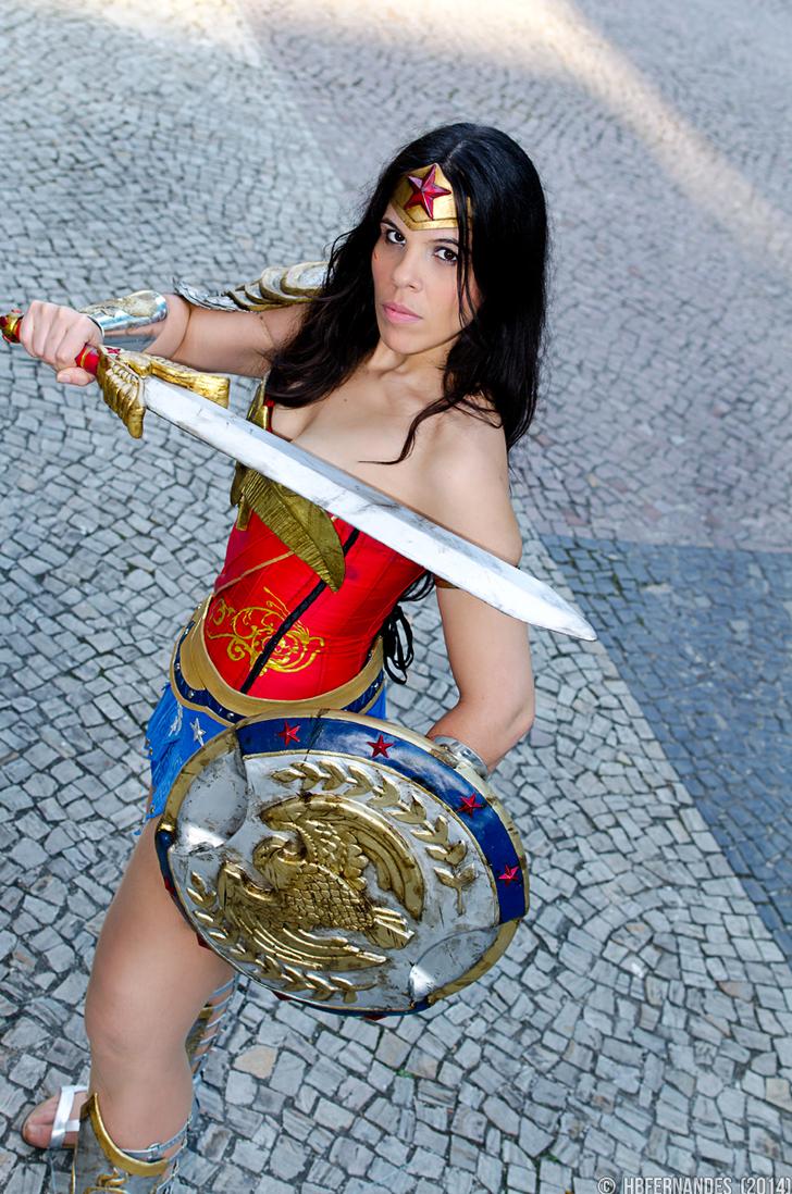Wonder Woman by Jessie-TR