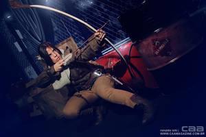 Lara Croft _ Rise of The Tomb Raider_CCXP2015 by Jessie-TR