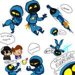Benny the (*cough*) Robot Spaceman