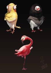 Dummy Bird Gangster by Starrrrrrry