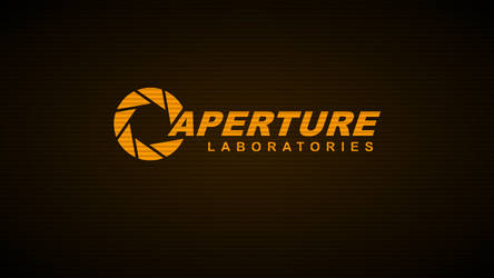 Aperture Laboratories Terminal-Wallpaper (Amber) by mrberni