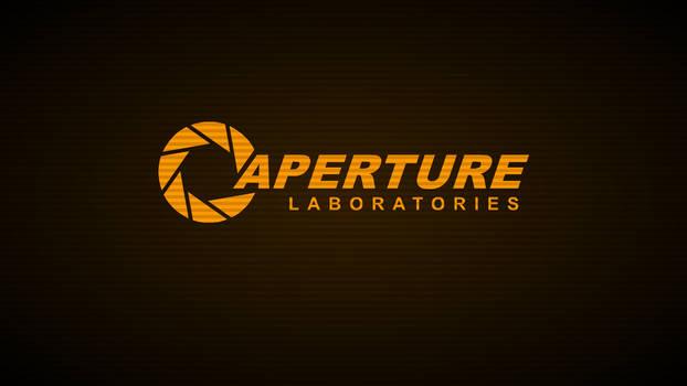 Aperture Laboratories Terminal-Wallpaper (Amber)