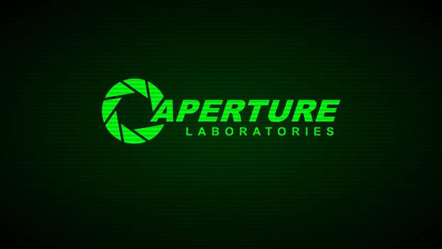 Aperture Laboratories Terminal-Wallpaper (Green)