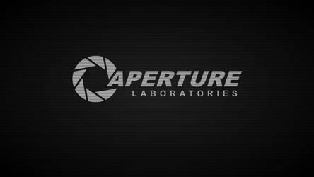 Aperture Laboratories Terminal-Wallpaper (Grey)