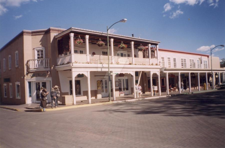 Old Town Santa Fe >> Santa Fe Old Town Square By Garycourtneyauthor On Deviantart